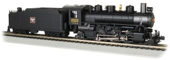 C B & Q Burlington #2121 - 2-6-2 Prairie (HO Scale)