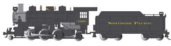 Northern Pacific # 2465 - 2-6-2 Prairie (HO Scale)