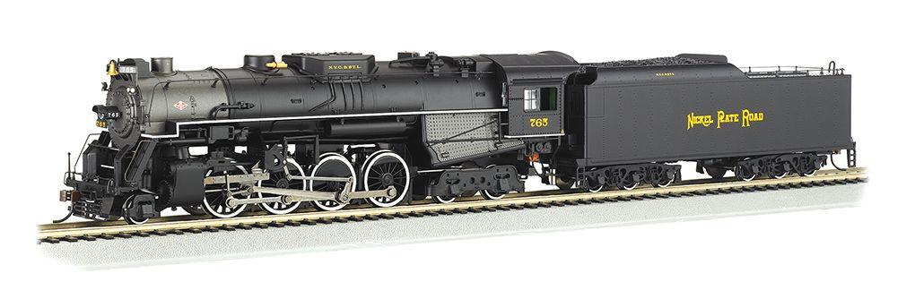 NKP #765 - Rail Fan Version 2-8-4 Berkshire  DCC Sound Value