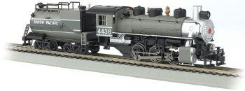 Union Pacific #4438 - USRA 0-6-0 w/Vandy Tender (HO)