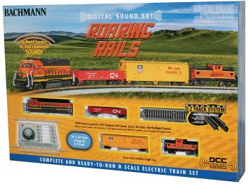Roaring Rails with Digital Sound (N Scale)