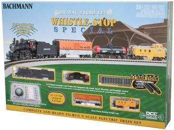 Whistle-Stop Special with Digital Sound (N Scale)
