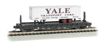 Atlantic Coast Line® 52ft flat car w/ Yale 35ft Trailer