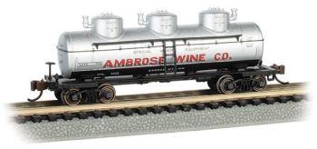 Ambrose Wine Co. - 3-Dome Tank Car