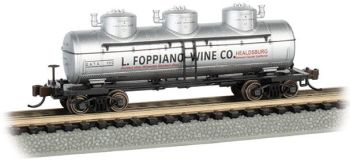 L. Foppiano Wine Co. - 3-Dome Tank Car