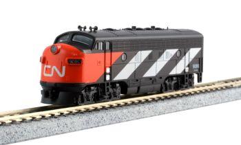 EMD F7A + F7B CN 2-Locomotive Set for the Transcontinental 7-Car Set w/ Pre-Installed Digitrax DCC