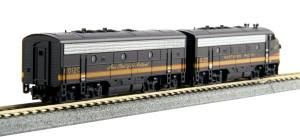 EMD F7 A/B Diesels NP #6012D 6012C/Dual Headlight  w/DCC
