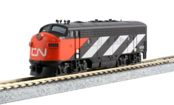 EMD F7A Canadian National for the Transcontinental 7-Car Set
