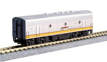 EMD F7B Santa Fe Yellow Bonnet (Freight version)