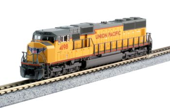 EMD SD70M Flat Radiator Union Pacific #4198 w/ Digitrax DCC