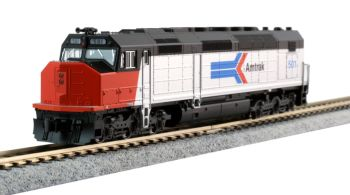 EMD SDP40F Type I, Amtrak Phase I Paint #501 w/ DCC Installed