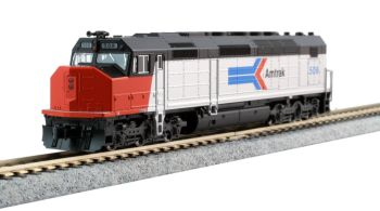 EMD SDP40F Type I, Amtrak Phase I Paint #508 w/ DCC Installed