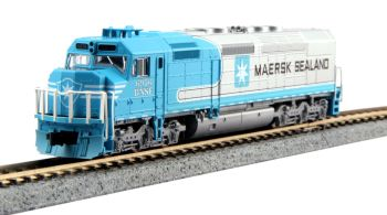 EMD SDP40F Type IVb, BNSF Maersk #6976 w/ DCC Installed