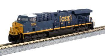 "GE ES44DC CSX ""Boxcar"" Logo #5250 w/ Ready-to-Run DCC"