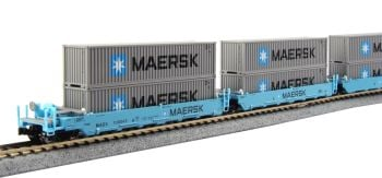 Gunderson MAXI-I Double Stack Car MAERSK