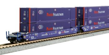 Gunderson MAXI-IV Pacer Stacktrain Well Car Set