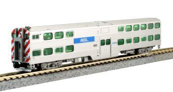 Nippon Sharyo Gallery Bi-Level Cab-Coach Chicago Metra #8593*