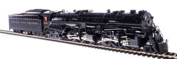 N&W Class A 2-6-6-4, #1218, Glossy Museum Finish, Paragon3 Sound/DC/DCC