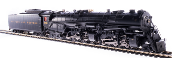 N&W Class A 2-6-6-4, #1239, with 22i tender, with roller-bearing siderods, Paragon3 Sound/DC/DCC