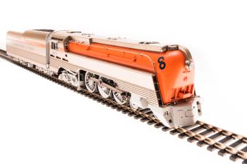 Chesapeake & Ohio Class L-1 Hudson, #491, Original Orange Boiler