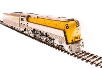 Chesapeake & Ohio Class L-1 Hudson, #492, Later Yellow Boiler