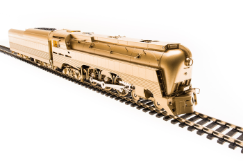 Chesapeake & Ohio Class L-1 Hudson, Unlettered/Unnumbered, Painted Brass