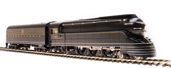 Streamlined PRR K4, #3768, 1936 Version, Later DGLE Paint, Low-mounted Keystone, 180P75 Tender, Paragon3 Sound/DC/DCC