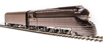 Streamlined PRR K4, #3768, 1936 Version, Bronze Paint, As-Delivered High-mounted Keystone, 180P75 Tender, Paragon3 Sound/DC/DCC