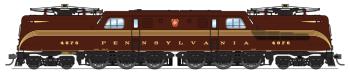 PRR GG1 Electric, #4876, Tuscan Red, 5-Stripe, Buff Lettering & Stripes, Roman Lettering, Paragon3 Sound/DC/DCC