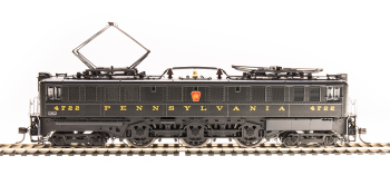PRR P5a Boxcab, #4716, Freight Type, DGLE, Buff Yellow Roman Lettering (Round), Paragon3 Sound/DC/DCC