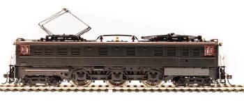 PRR P5a Boxcab, Unlettered, Passenger Type, DGLE, Brown Roof, Paragon3 Sound/DC/DCC