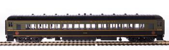 CN 80' Passenger Coach, Green & Black, Single Car