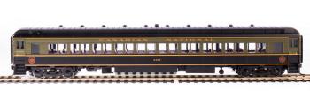 CN 80' Passenger Coach, Green & Black, 2-pack B