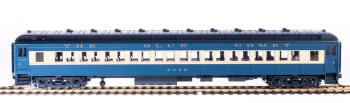 CNJ 80' Passenger Coach, Blue Comet, Single Car