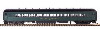 MEC 80' Passenger Coach, Green & Gold, Single Car