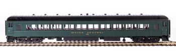 MEC 80' Passenger Coach, Green & Gold, 2-pack B