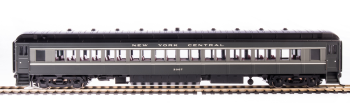 NYC 80' Passenger Coach, Two-tone Gray, 2-pack A