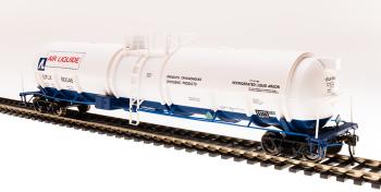 Cryogenic Tank Car, Air Liquide, 2-pack