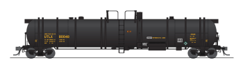 Cryogenic Tank Car, UTLX, Black, Single Car