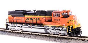 EMD SD70ACe, BNSF #9268, Swoosh Scheme, Paragon3 Sound/DC/DCC