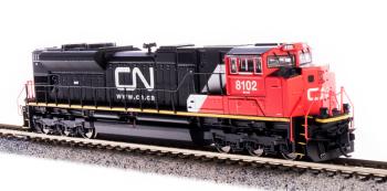 EMD SD70ACe, CN #8101, Website Scheme, Paragon3 Sound/DC/DCC
