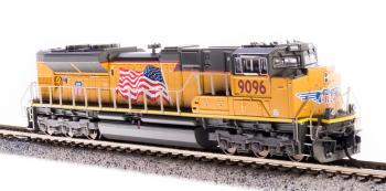 EMD SD70ACe, UP #8997, Flag, Paragon3 Sound/DC/DCC