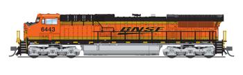 GE AC6000, BNSF #6443, Swoosh Scheme, Paragon3 Sound/DC/DCC