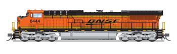 GE AC6000, BNSF #6444, Swoosh Scheme, Paragon3 Sound/DC/DCC