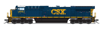 "GE AC6000, CSX #610, YN3 Paint Scheme (""Dark Future""), Paragon3 Sound/DC/DCC"