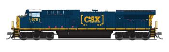 GE AC6000, CSX #676, Boxcar Scheme, Paragon3 Sound/DC/DCC
