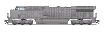 GE AC6000, Unpainted, CSX Type, Paragon3 Sound/DC/DCC