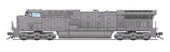 GE AC6000, Unpainted, UP Type, Paragon3 Sound/DC/DCC