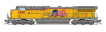 "GE AC6000, UP #6888, Updated ""Building America"" Scheme, Paragon3 Sound/DC/DCC"