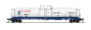 Cryogenic Tank Car, Air Liquide, Single Car